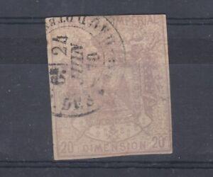 FRANCIA-1870-20c-fiscale-ricavi-VFU-J8738