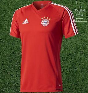 pretty nice a9b26 815f1 Details about Bayern Munich Training Top - adidas FC Bayern Football Train  Shirt - All Sizes
