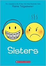 Sisters by Raina Telgemeier 2014 Scholastic Paperback EUC