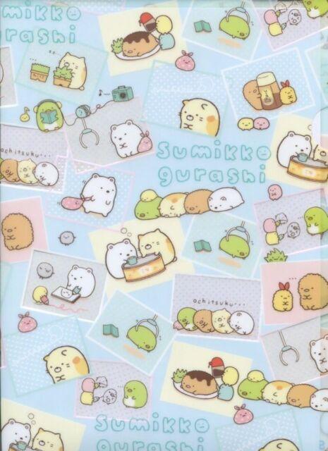 San-X Sumikko Gurashi A4 Plastic File Folder #2