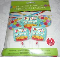 Anagram Birthday Time To Party Foil Balloon Bouquet