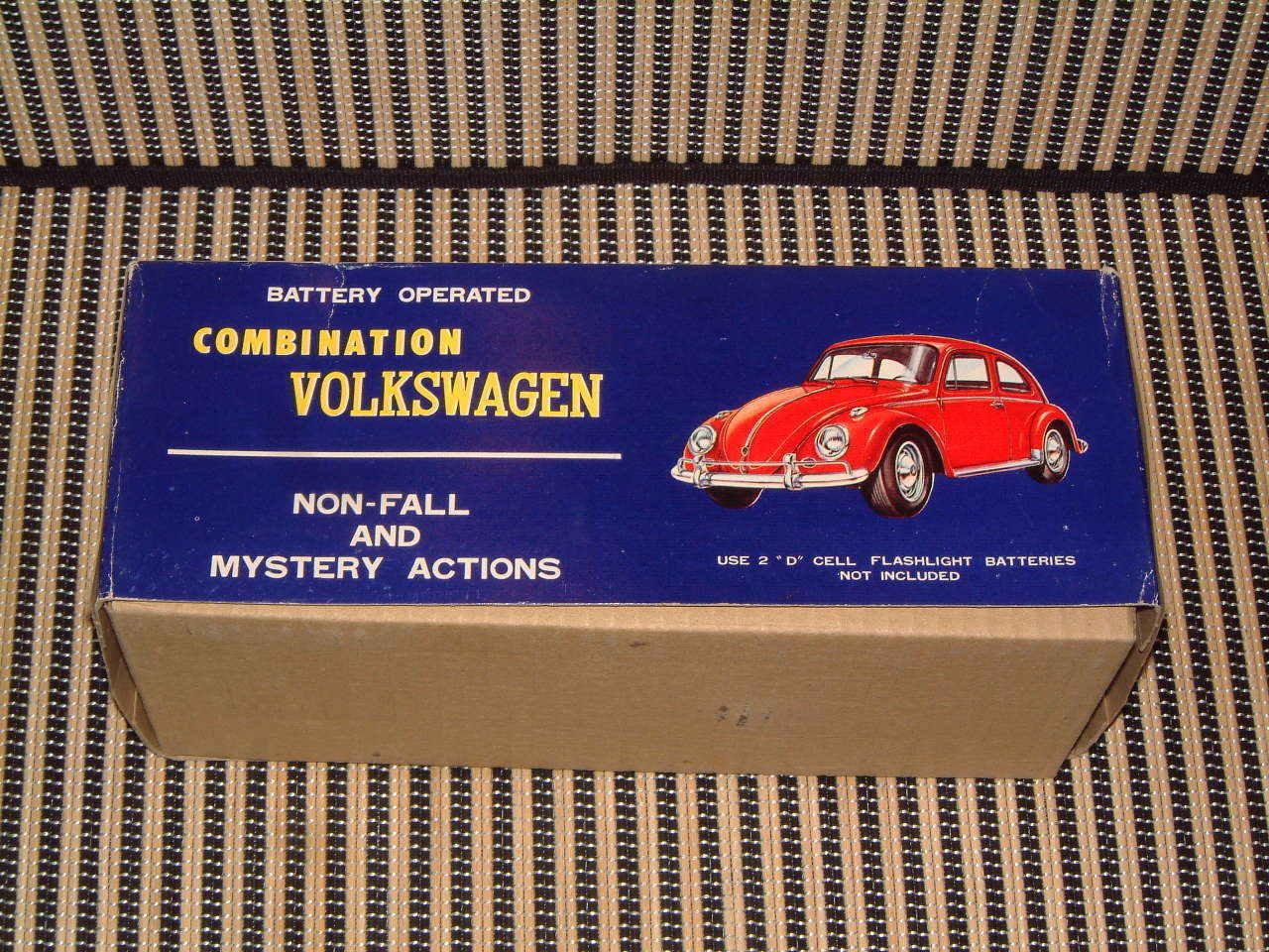TAIYO VW COMBINATION BEETLE NON-FALL W W W BUMP 'N GO. IN ORIGINAL BOX FULLY WORKING 2e742a