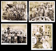 BENNY GOODMAN Band Musical HOLLYWOOD HOTEL Berkeley Jazz 4 Photos 1937