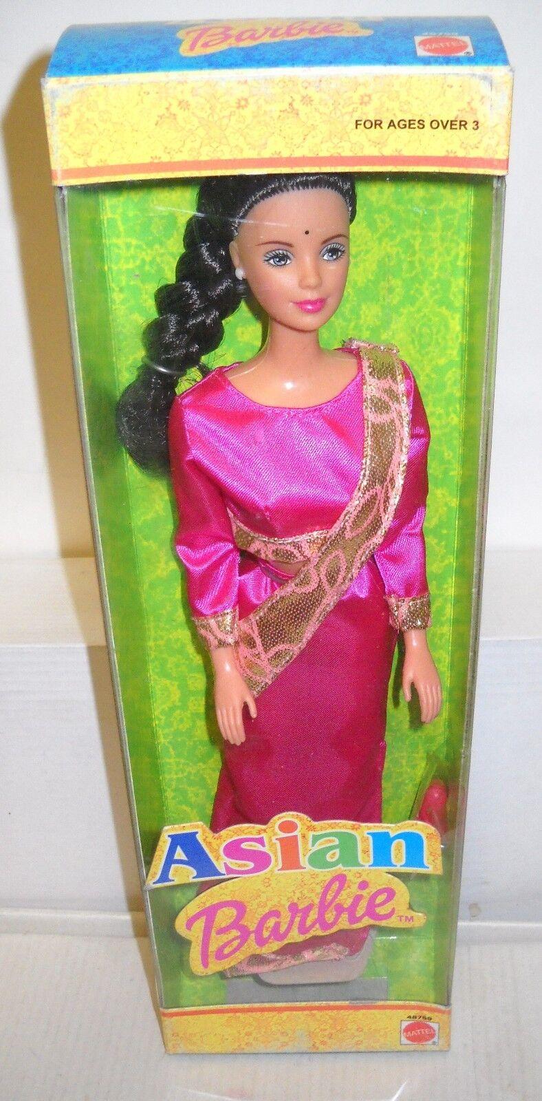 Nunca quitado de la Caja Mattel Filipinas Muñecas Del Mundo Colección de Asia-India Barbie