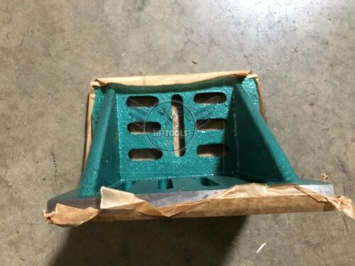 """Slotted Angle Plate webbed End 9x7x6/"""" high tensil cast iron accurate ground-new"""