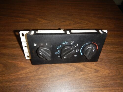 Jeep Cherokee XJ 99-01 Heater Heat Climate Control Fan Switch w/ A/C Switches