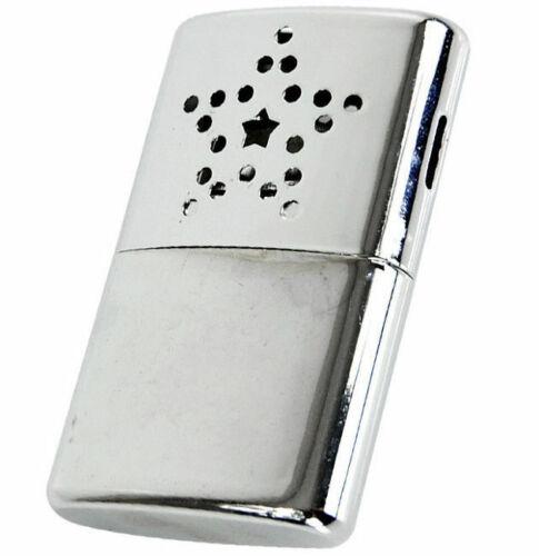Mil-Tec Portable Petit Chauffe-main Chaufferette Réutilisable À Essence Briquet