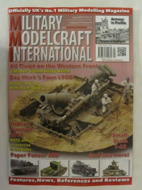 Military Modelcraft International - April 2019 Modeling Magazine