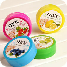 Lots 64pcs Fruit Flavors Acetone Nail Polish Remover Cleaner Wet Wipe Pad Paper