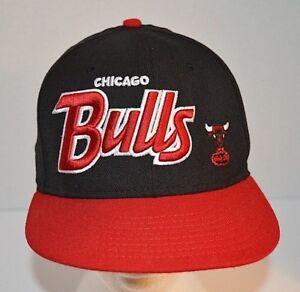 Chicago-Bulls-Red-Black-Windy-City-Logo-9Fifty-Snapback-NBA-Basketball-Cap-Hat