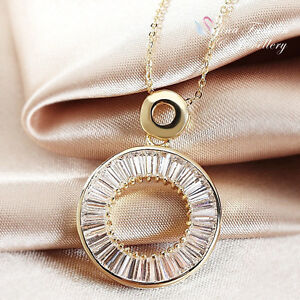18K-Yellow-Gold-Plated-Simulated-Diamond-Channel-Set-Baguette-Circle-Necklace