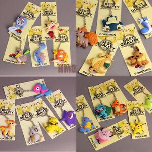 Pokemon-Go-PVC-Keychain-3D-Keyring-Charm-Pendant-Pikachu-Toy-Accessories