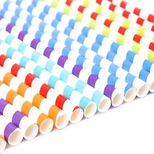 Jumbo-Vintage-Throwback-50s-American-Diner-Quality-Paper-Colour-Straws-Stripes