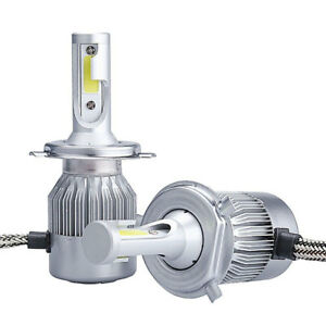 Kit luci led fari lampade h7 6000k 36w auto moto headlight for Lampade a led lumen