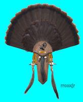 Hs Strut Hunter's Specialties Turkey Fan Tail 3 Beard Mounting Plaque Kit