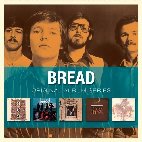 BREAD 5CD NEW Bread/On The Waters/Manna/Baby I'm-A Want You/Guitar Man