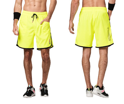 Bold Black Z2B00164 STRONG By Zumba Basketball Shorts