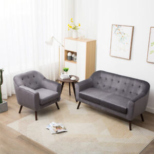 Incredible Details About 1 2 Seater Sofa Velvet Fabric Armchair Loveseat Love Seat Accent Chair Settee Uk Pdpeps Interior Chair Design Pdpepsorg