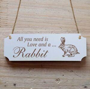 Türschild Dekoschild « Hase Wildhase 03 » Rabbit Osterhase Ostern Die Nieren NäHren Und Rheuma Lindern Welt Der Tiere