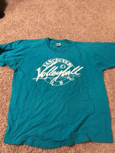 Vintage 1992 Vancouver Volleyball Parks And Recrea