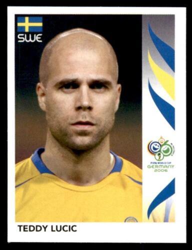 155 Panini WORLD CUP 2006-Teddy Lucic Suecia no