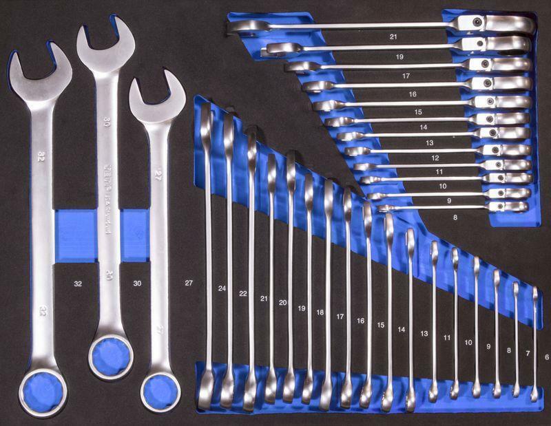 Güde Schraubenschlüssel Set 32 tlg. Werkzeug Schraubenschlüsselset