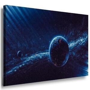 Sonne Planet Leinwandbild AK Art Bilder Mehrfarbig Kunstdruck XXL Wandbild TOP