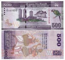 SRI LANKA 500 RUPEES 2015 UNC P 126 b