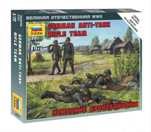 Zvezda 6216 GMK Plastikmodellbau Deutsche Anti Tank Rifle Team 1:72