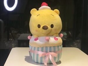 Brand-New-Wiinnie-The-Pooh-Cupcake-Pastel-Plush-Premium-Rare-Japan-Disney
