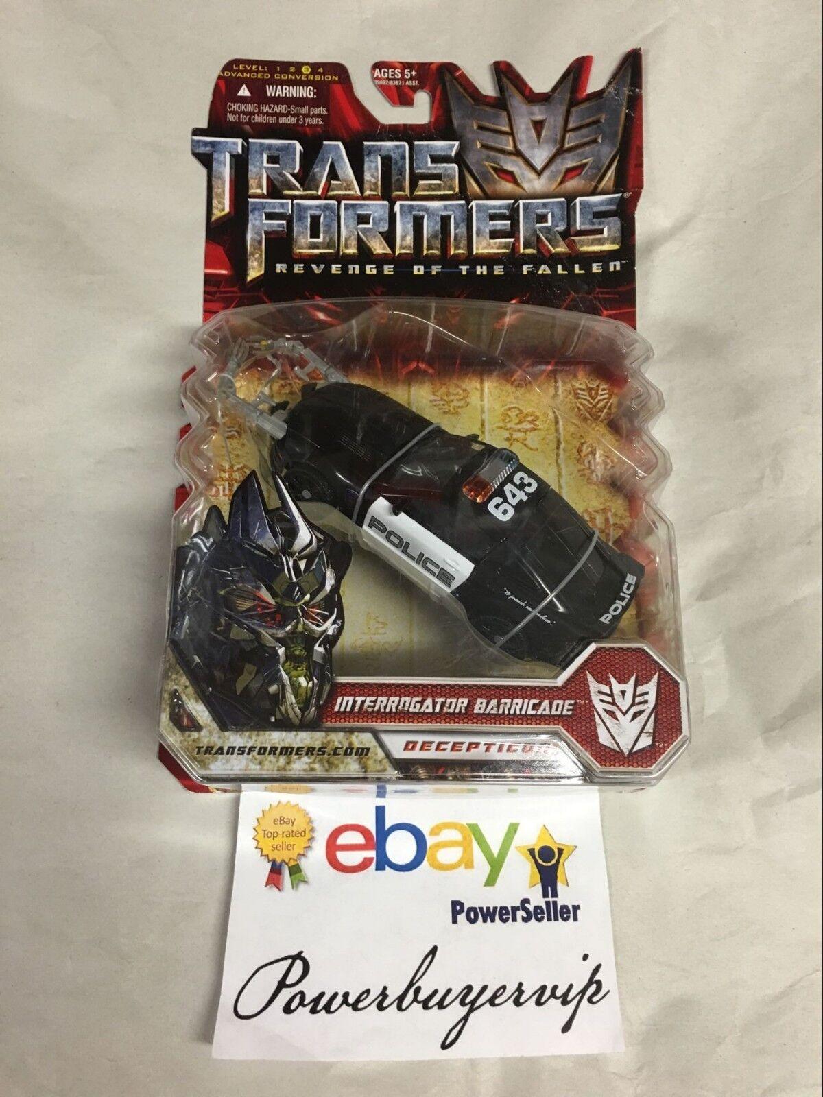 NEW Hasbro Transformers Movie 2 Premium Deluxe Interrogator Barricade 2 DAY GET