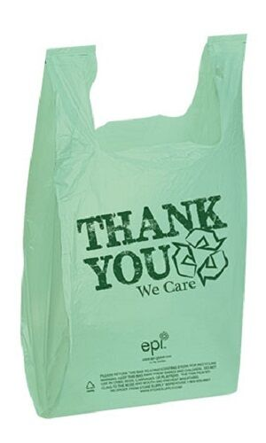 1000 Bags T Shirt Supermarket Grocery Red Green Black  Blue White Thank You