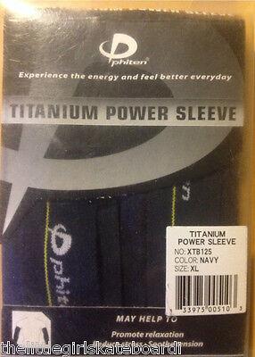 X-LARGE Black Details about  /4 PHITEN TITANIUM POWER SLEEVE PROMOTE RELAXATION,REDUCE STRESS