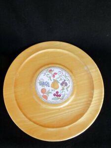 Dansk-Umbrian-Frutas-Tabla-de-Quesos-W-Ceramica-Azulejo-Multiple-Vinas-Hermoso