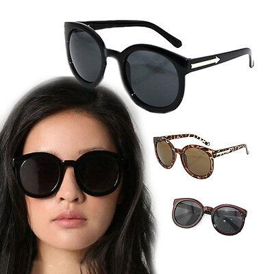 2013 Women's Retro Style Arrow Round Frame 5 Colors Sunglasses