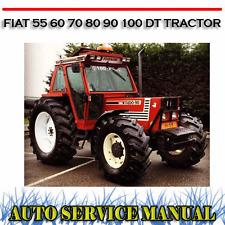 fiat tractor 1180 1280 1380 1580 1880 dt versions workshop service rh ebay com au Fiat Hesston Tractors 4WD Versatile Tractors