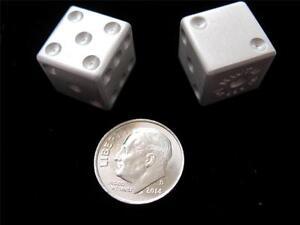 Weighted craps dice