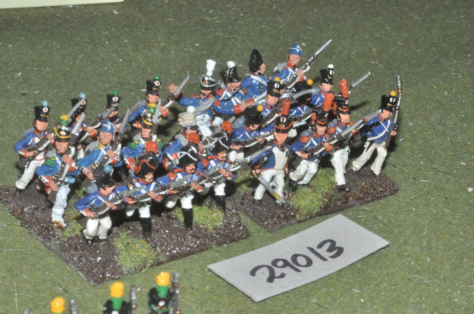 25mm napoleonic   union - line 24 figures - inf (29013)