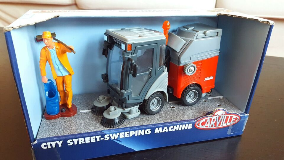 City street-sweeping machine, Carville