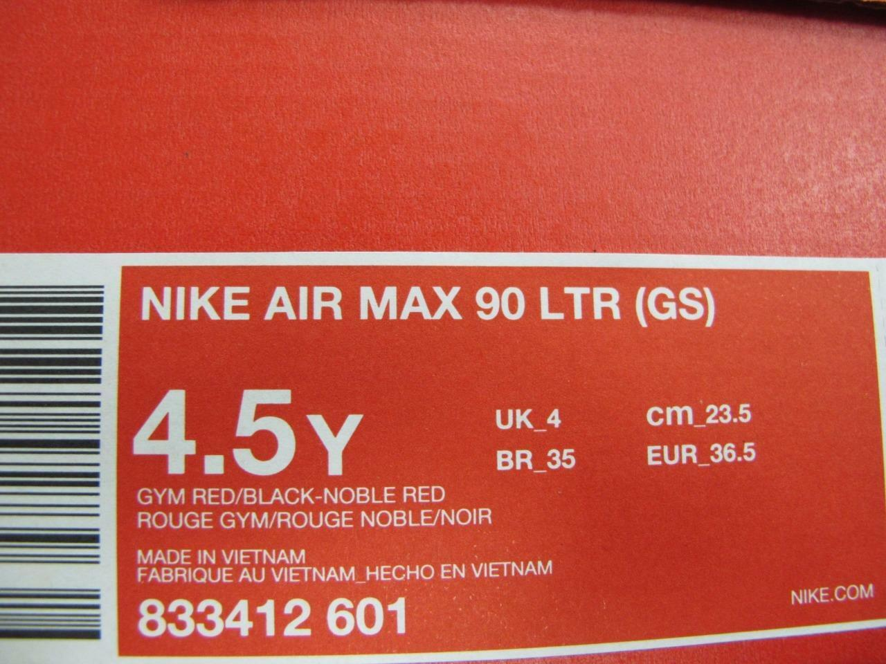 03176967cc Buy Nike Air Max 90 Ltr Big Kids 833412-601 Gym Noble Red Athletic Shoes  Size 4.5 online   eBay