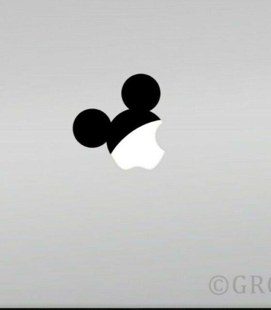 Apple Macbook Laptop Vinyl Sticker Decal Mickey Hat Disney