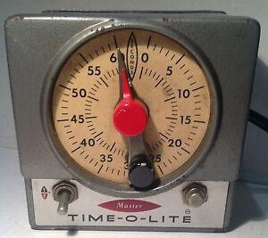 Master Time O Lite Industrial Darkroom Timer M-59