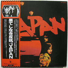 JAPAN (Adolescent Sex) 1978 Japanese LP + Obi David Sylvian MINTY! New Wave PUNK