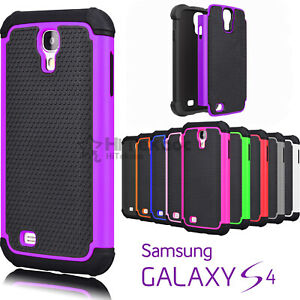 For-Samsung-Galaxy-S4-Shockproof-Hybrid-Rugged-Rubber-Hard-Shell-Case-Cover-Skin