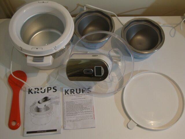 Efterstræbte Ismaskine / Ice Cream Maker, KRUPS – dba.dk – Køb og Salg af Nyt VU-24