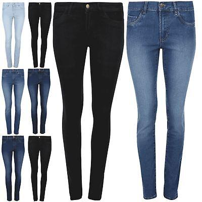 New Women Ex-Zara Sky blue  Spandex Ladies Waist Jeans Trouser All Sizes
