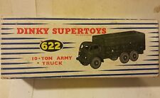 Dinky Supertoys Recovery Tractor Mecanno Diecast 661 Scammell 6-Wheel Military