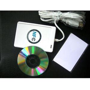 NFC-ACR122U-RFID-Contactless-smart-Reader-amp-Writer-USB-SDK-5xMifare-IC-Card-HY