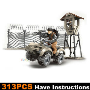Call-of-Duty-Military-AVT-Tower-Soldiers-Fit-WW2-Mega-Construx-Lego-MiniFigures