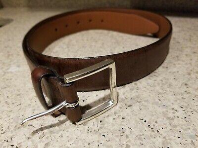 Lejon Belt 1576 Mens Smooth Leather Dress Belt 1-1//8 Wide Made in USA